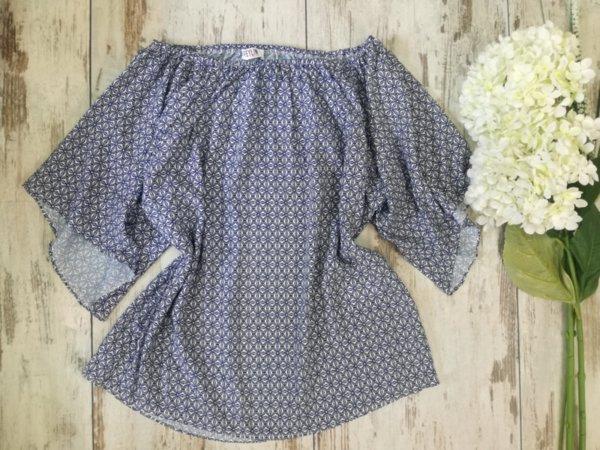 Лятна блуза в свободен силует - Nimmus